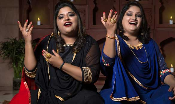 Rohani Sister featuring at Jaipur Music Stage 2019